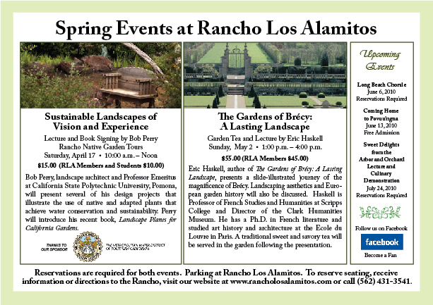 Spring Events Postcard