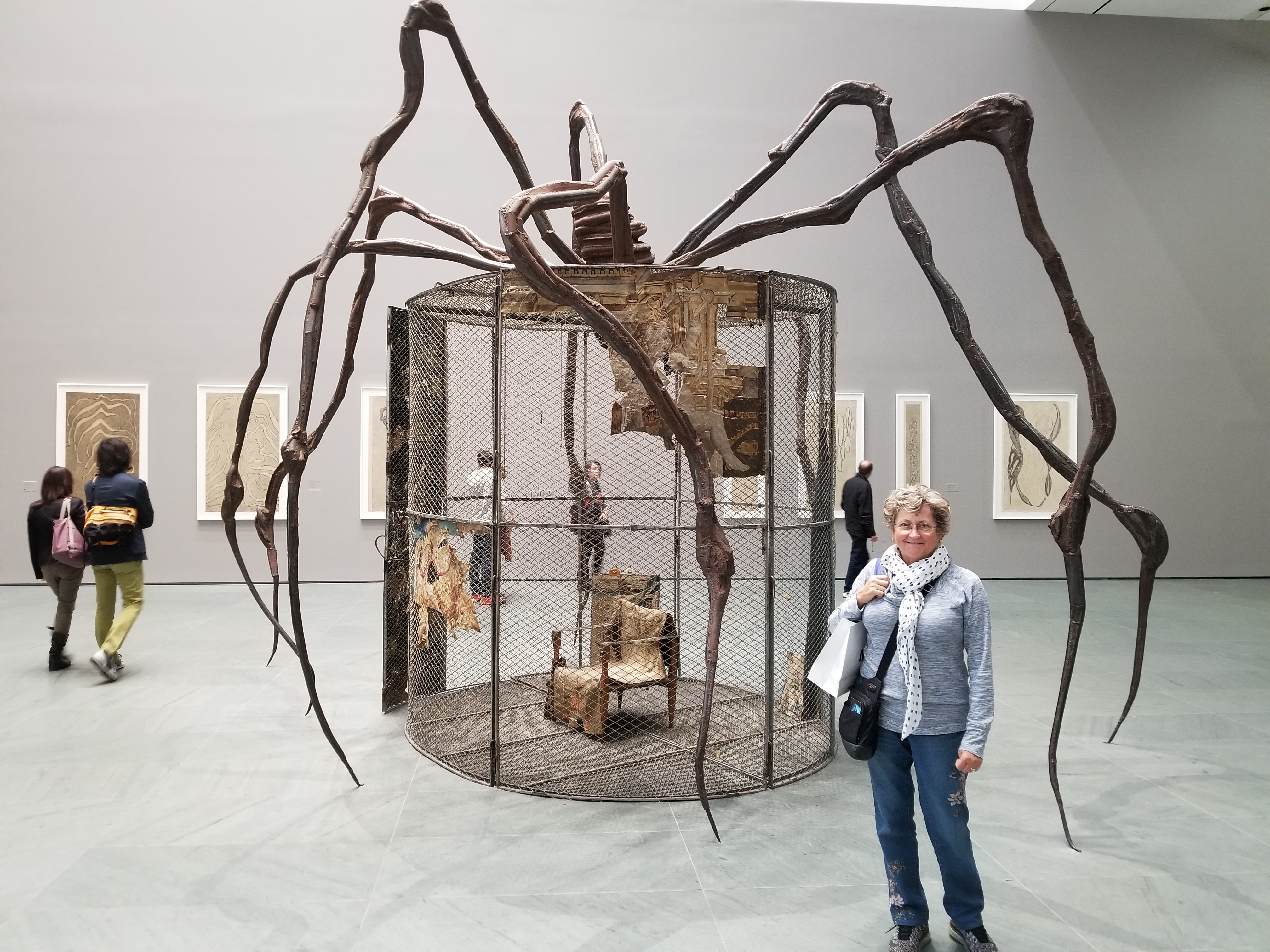 Louise Bourgeois Spider! at MOMA in New York