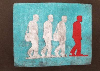 Walking Man Series