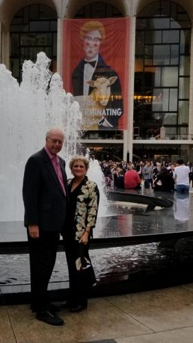 "We saw ""The Magic Flute"" at the Metropolitan Opera house"